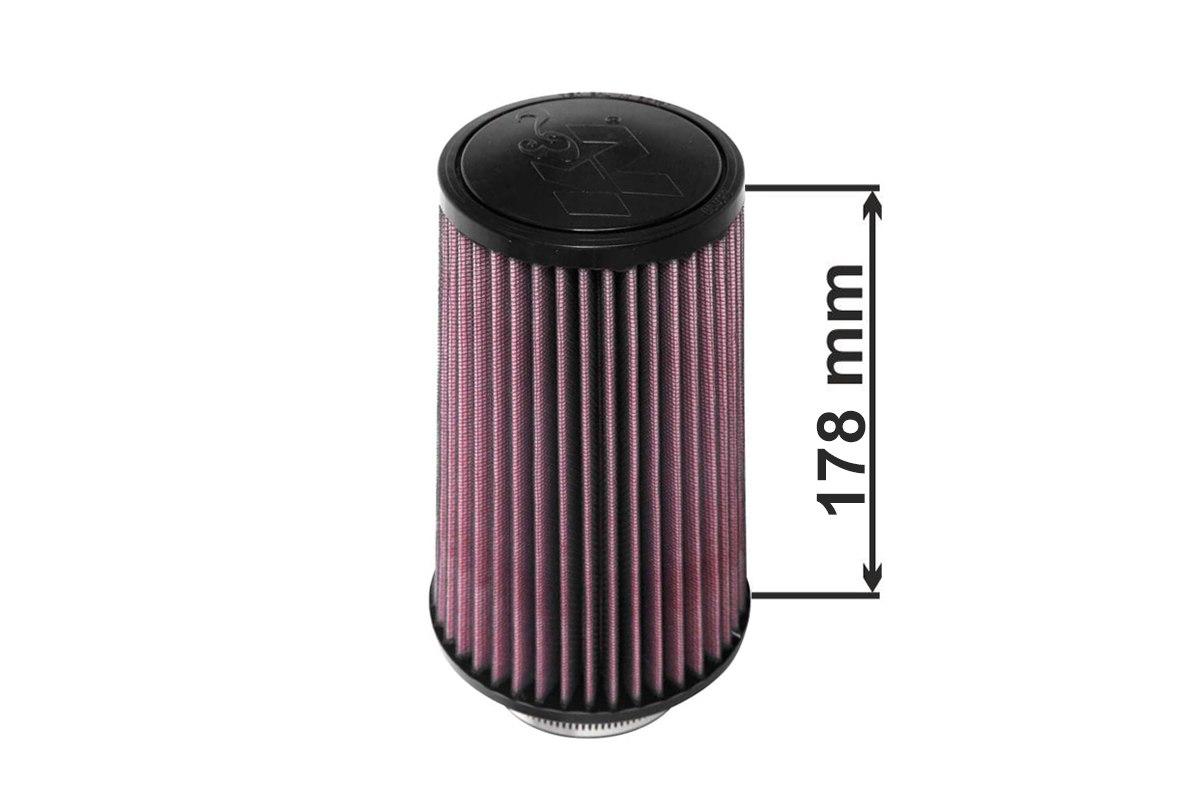 K&N Filtr stożkowy RU-4680 102mm - GRUBYGARAGE - Sklep Tuningowy